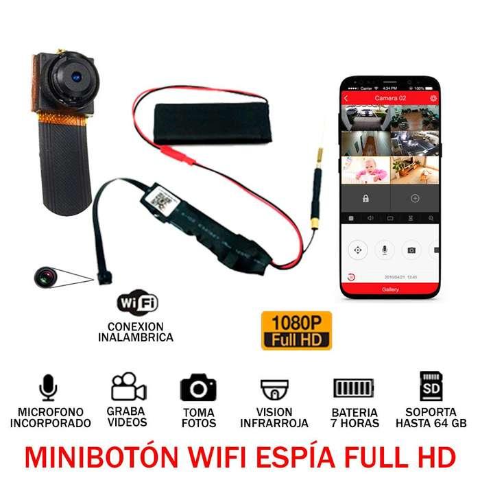 Camara Ip Micro Boton Espia Full Hd Wifi Android iPhone 7h