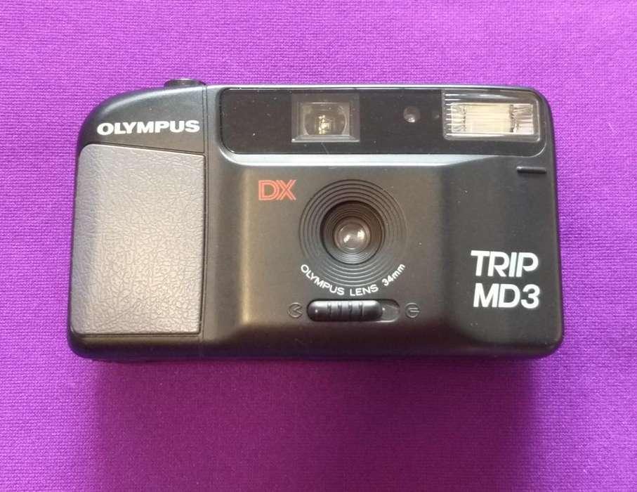 Cámara Analógica Olympus Trip Md3 34mm