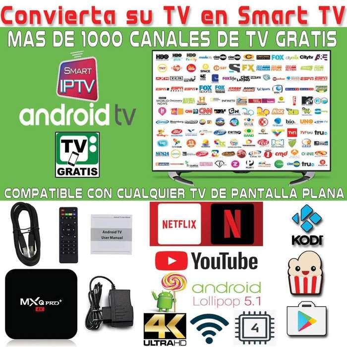 Convierta su TV actual en un SMART TV (Television Gratis sin mensualidad)