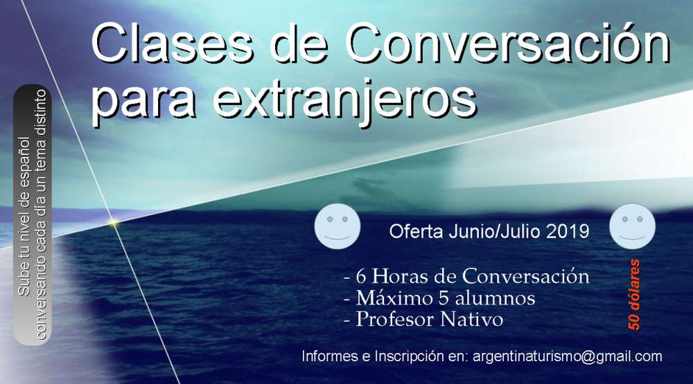 Spanish conversation in Buenos Aires Argentina