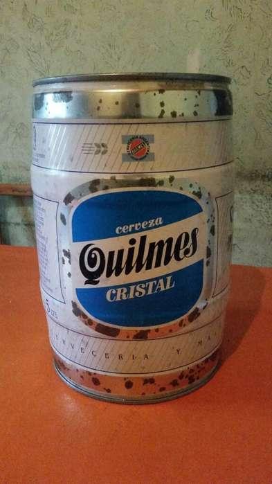 Barril 5l Cerveza Quilmes Vacio 1997