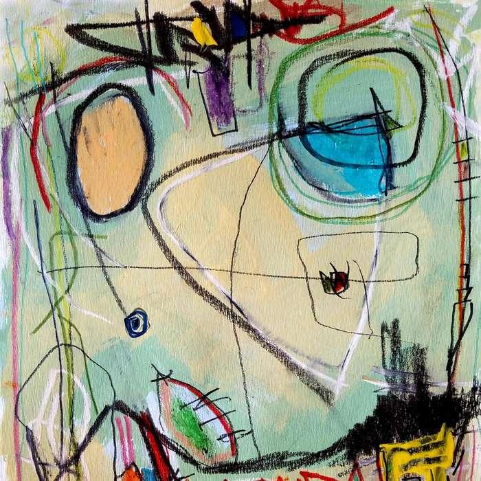 Impresion de arte original 25 x 25 cm