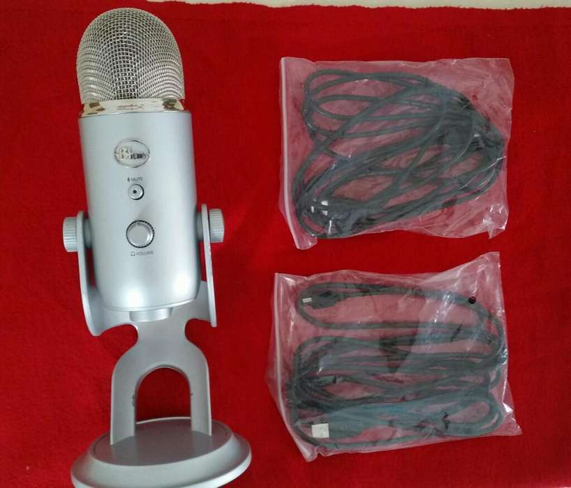 Microfono Blue Yeti Youtube