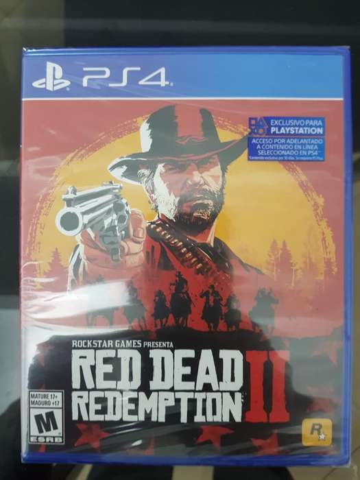 Red Dead Redemption Ps4 Nuevo