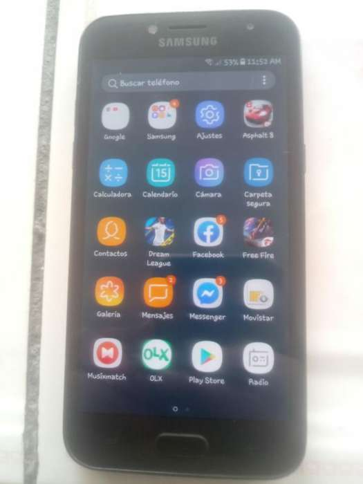 Galaxy J2pro con Pequeño Detalle 45 Fijo
