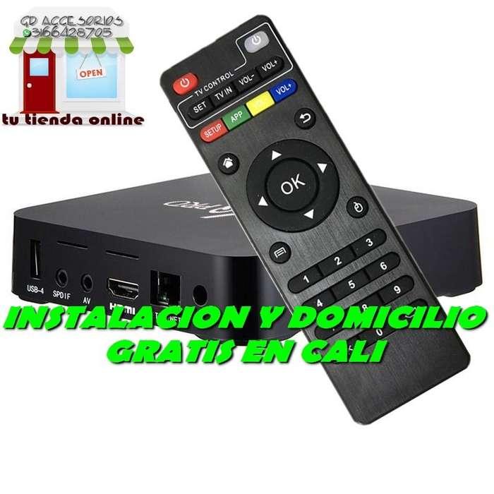 DOMICILIO EN CALI CAJAS TV BOX MXQPRO 4K , CON APLICACION PARA VER CANALES ONLINE