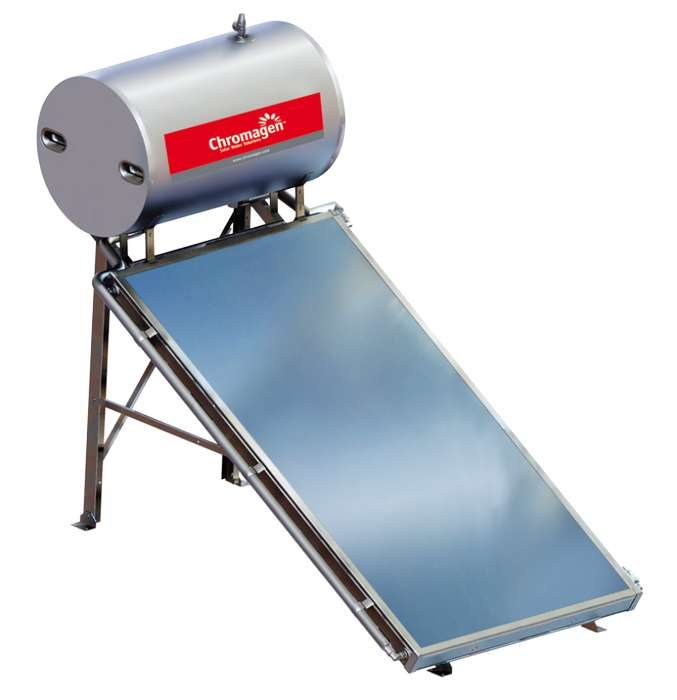 Termotanque solar 300 litros Origen Israel Termosifónico indirecto Para 5/6 Personas