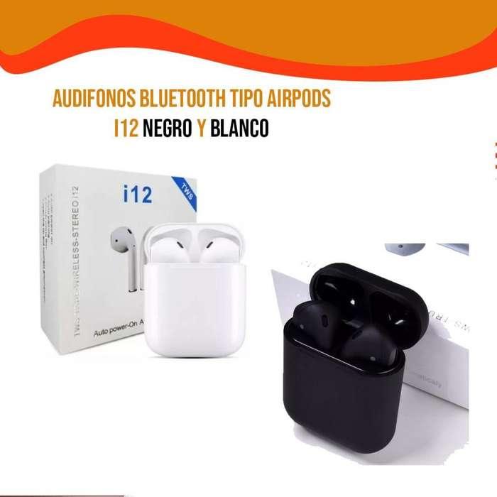 Audifonos Bluetooth I12 Tws, Airpods