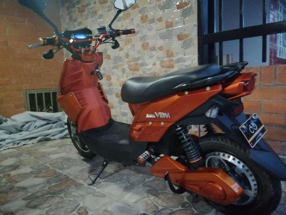 Vendo Moto Eléctrica Como Nueva