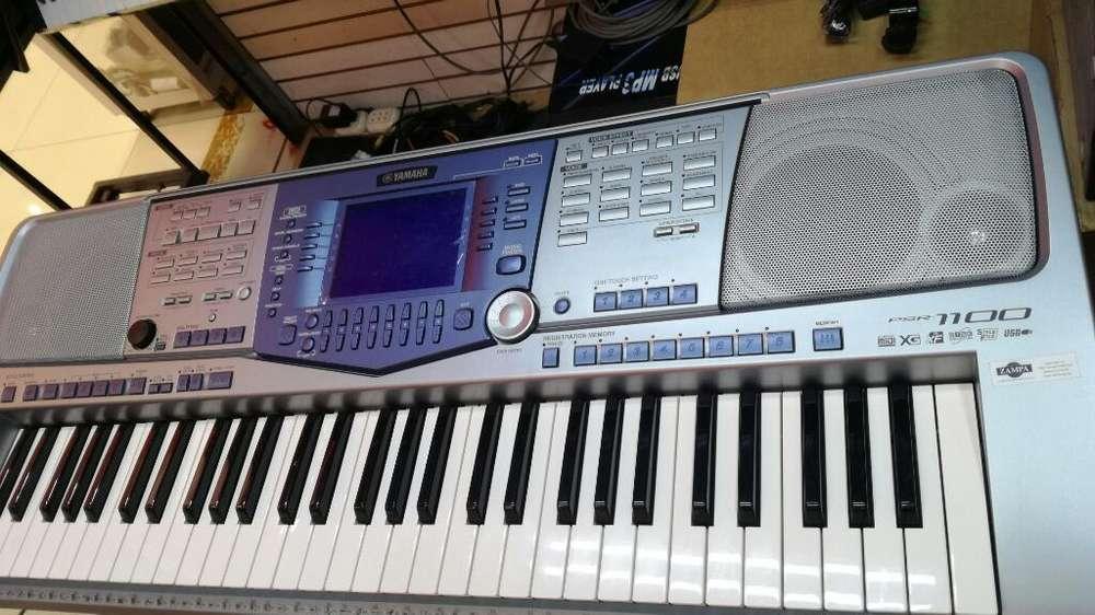 ORGANO ELECTRONIC PIANO YAMAHA PSR 1100 DISKETTES COMO NUEVO.