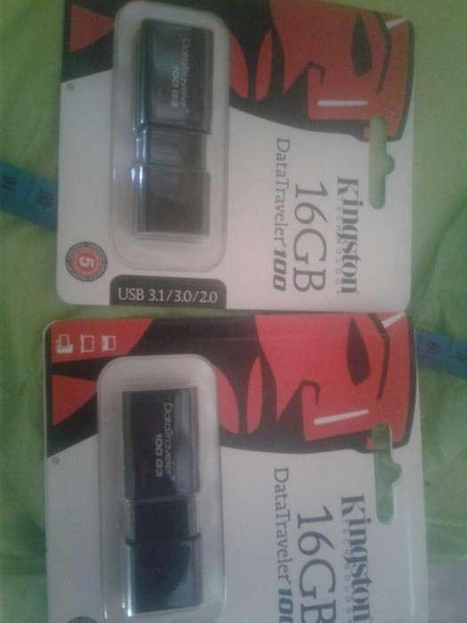 2 <strong>memoria</strong>S USB KINGSTON DE 16GB