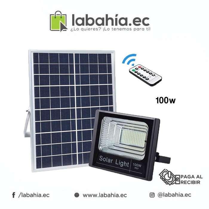 Reflector Solar 100w Con Control