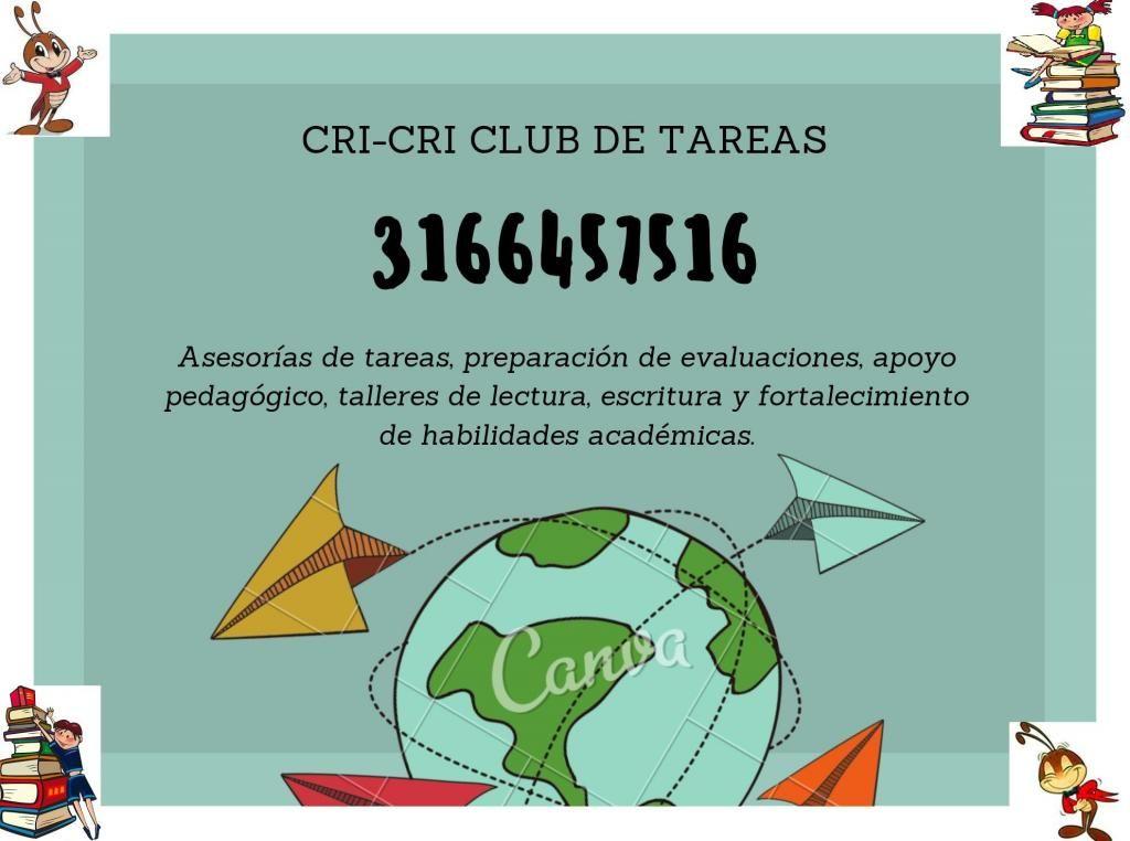 CRICRI CLUB DE TAREAS...