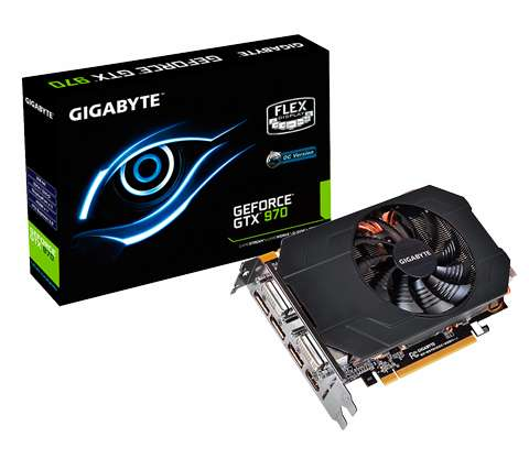 NUEVA - Placa de Video GEFORCE GTX 970 GIGABYTE