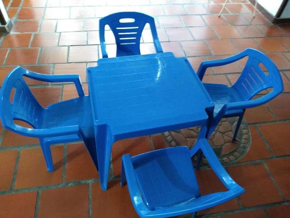 Vendo Juego de Mesa para Niñoscon <strong>silla</strong>s