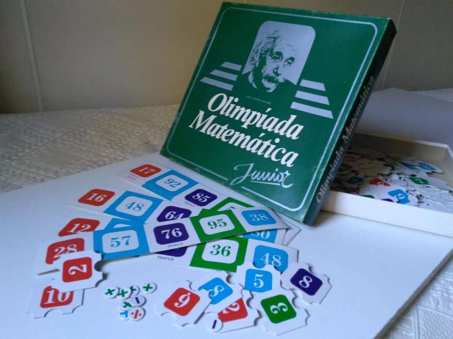 Olimpíada Matemática: Juego Usado