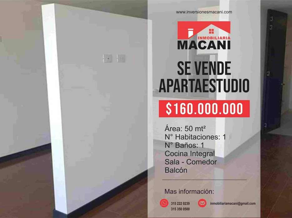 Se Vende Apartaestudio en Edificio Terrazas Club House Unicentro