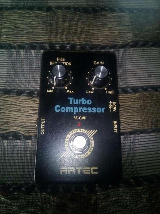 Pedal Turbo Compresor