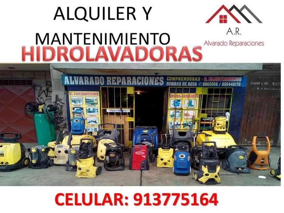 REPARACIÓN, MANTENIMIENTO, VENTA, ALQUILER DE HIDROLAVADORAS KATCHER, SERVICIO TECNICO EN LIMA - 913775164