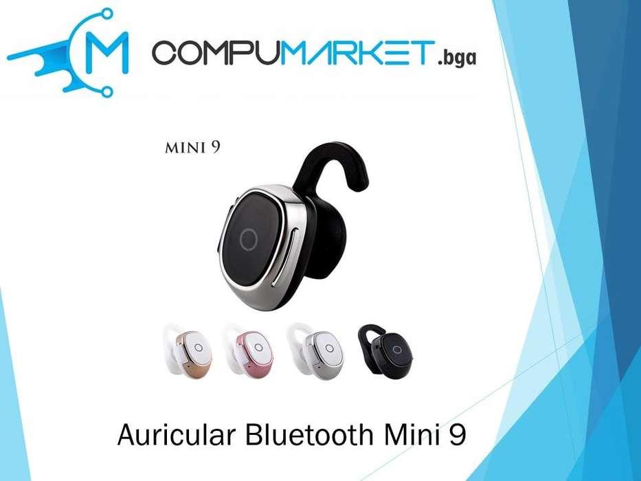 Auricular Bluetooth Mini 9 nuevo y facturado