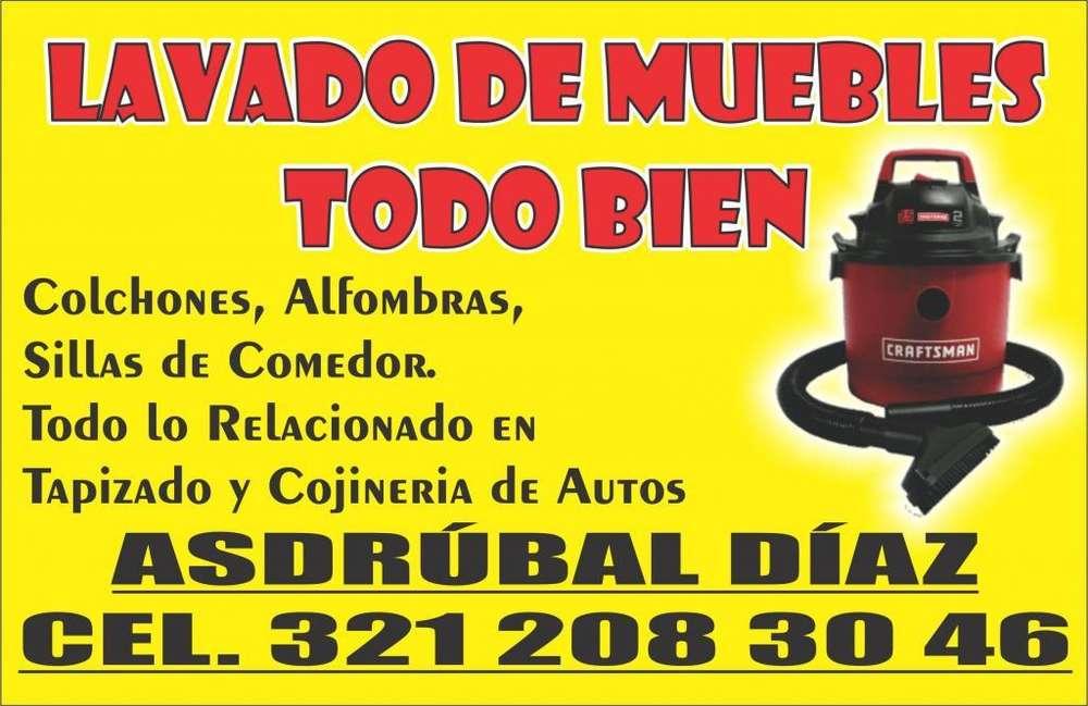 LAVADO DE MUEBLES CEL.321 208 30 46