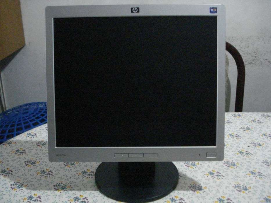 Monitor Lcd Hp L1706 No Prende.