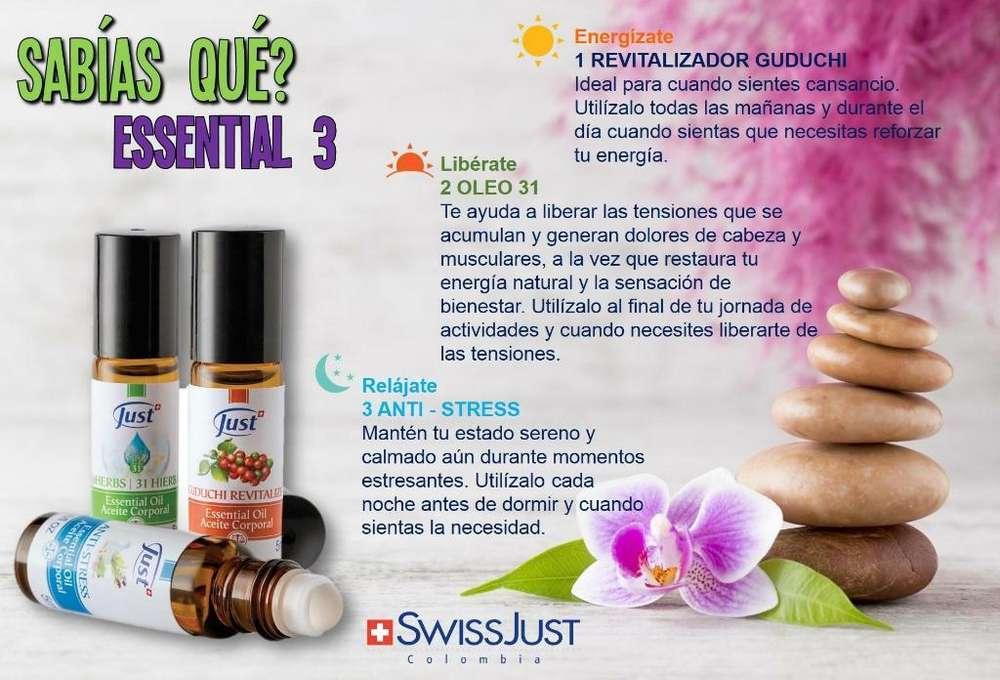 Essential 3 de Swiss Just en Oferta!