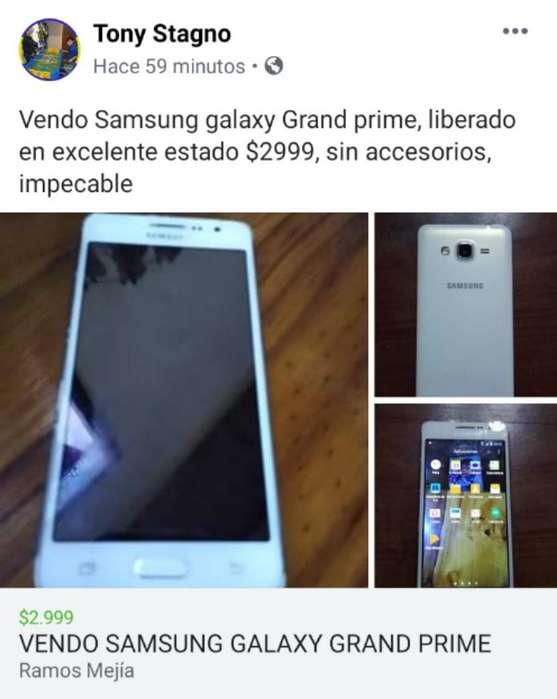 Samsung Grand Prime Impecable Liberado