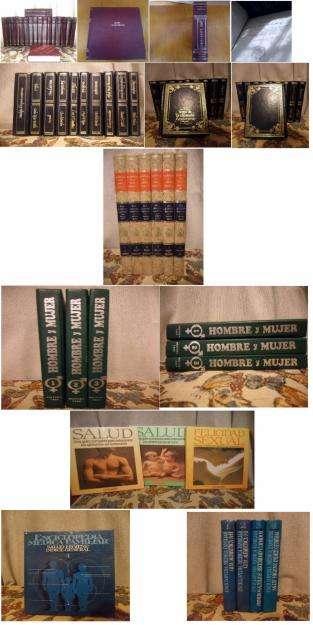 Enciclopedias, libros, revistas, etc