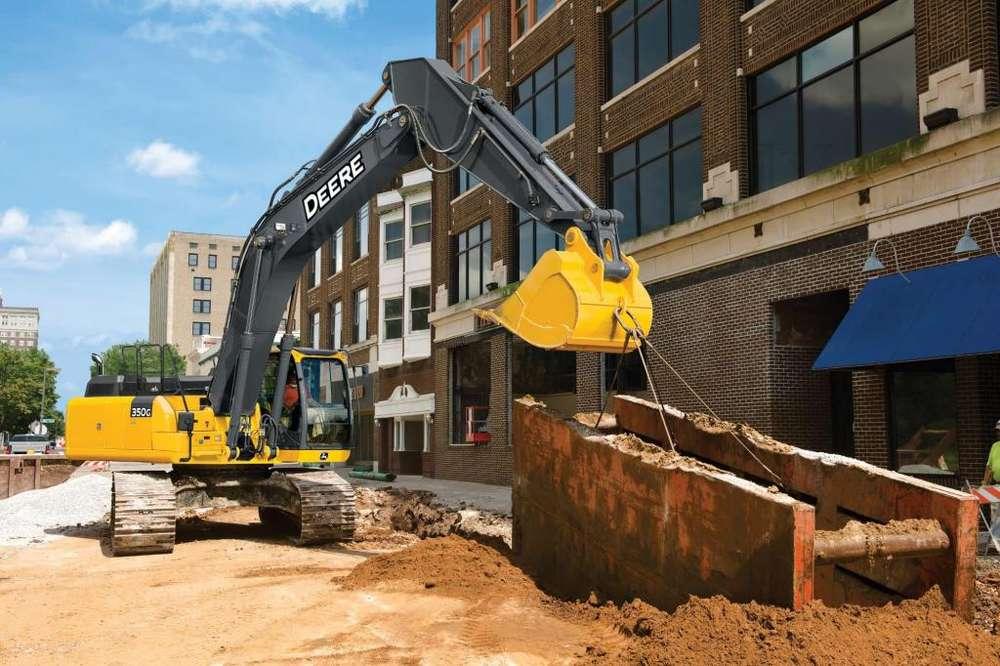 Excavadora John Deere 350G LC