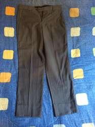 Vestido de Paño Talla 30 Color Gris