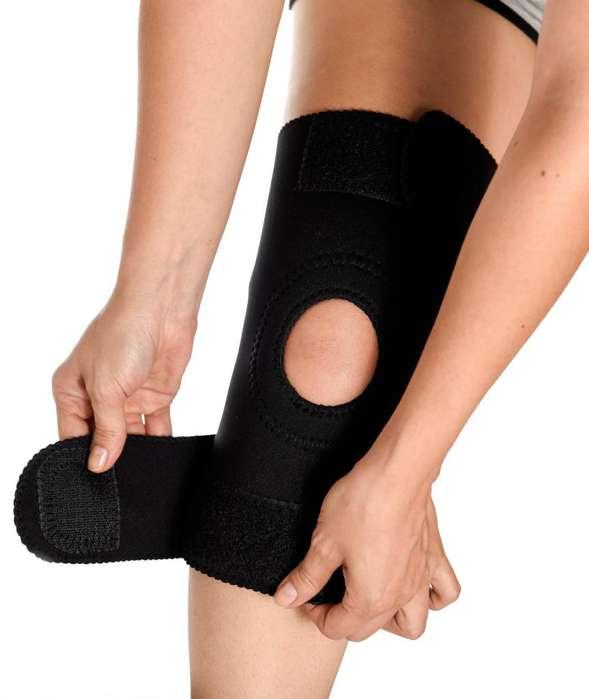 Rodillera Ortopédica Neopreno Artritis Ajustable Rotula Abierta