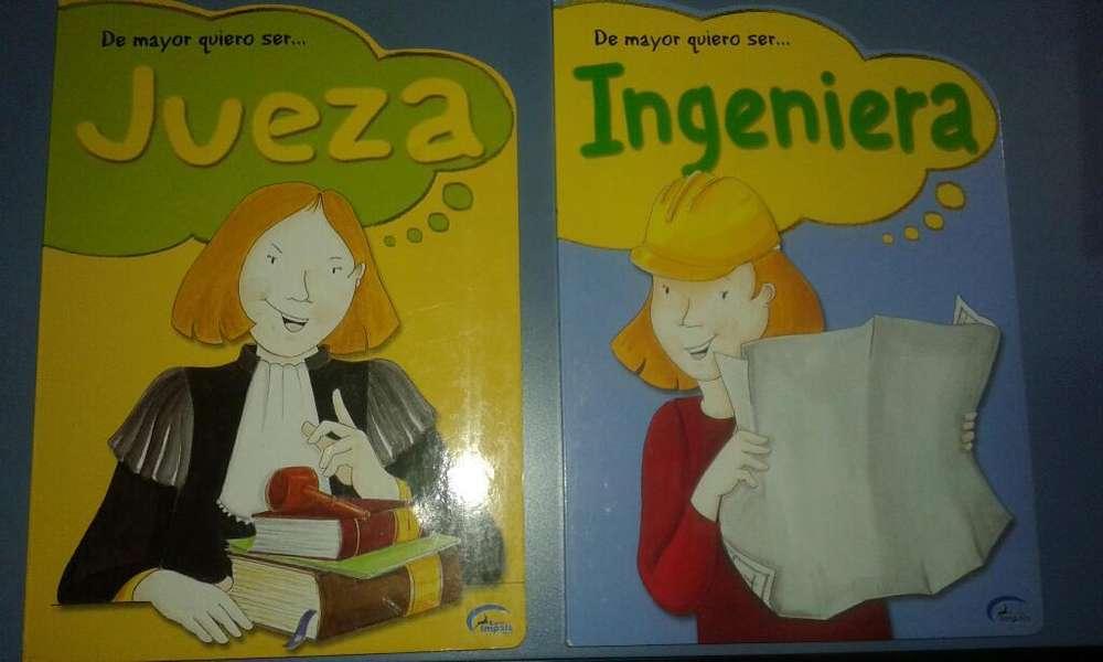 Lote de 8 Libros Infantiles Tapa Dura