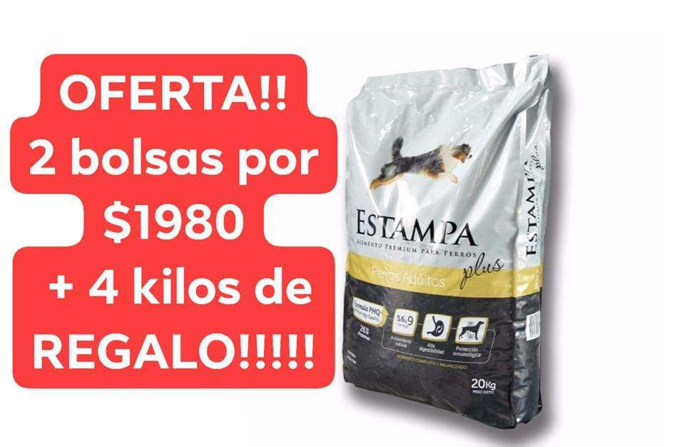 OFERTA ALIMENTO ESTAMPA PLUS