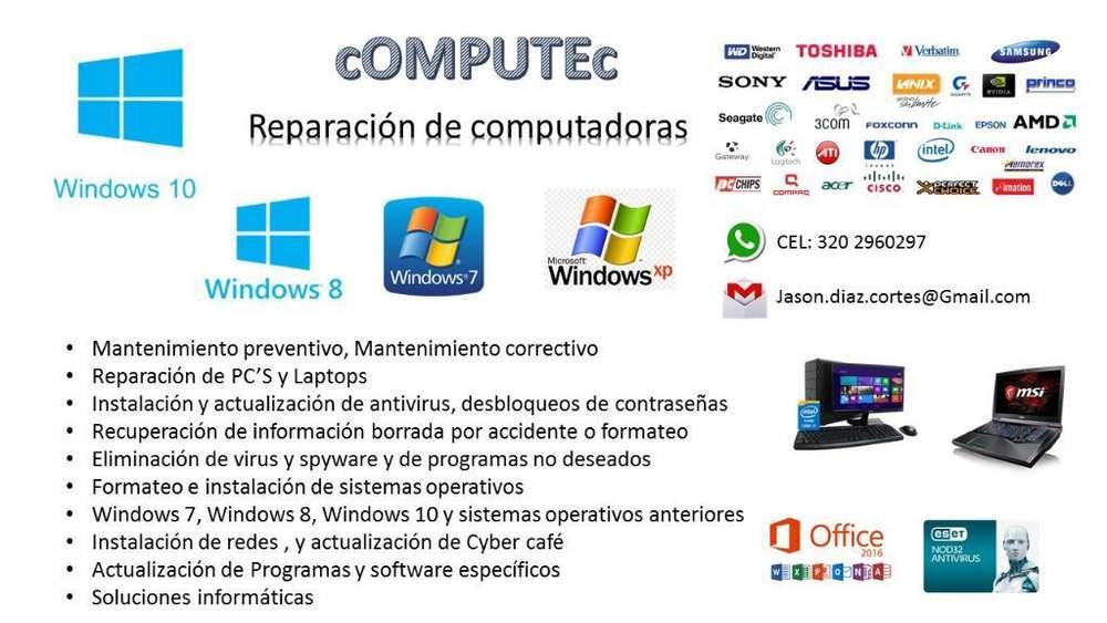 Arreglo Computadores