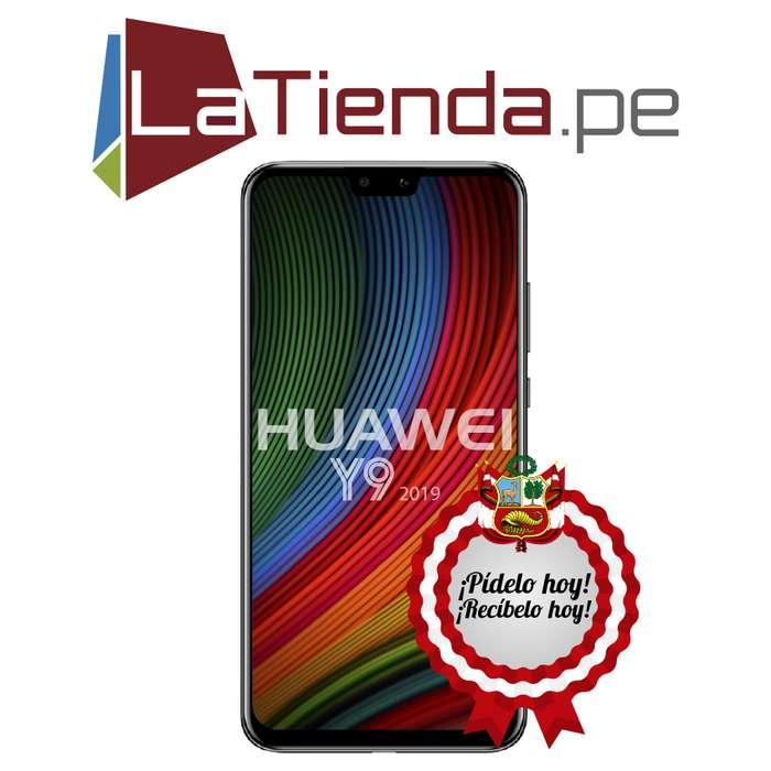 Huawei Y9 2019 lector de huellas dactilares