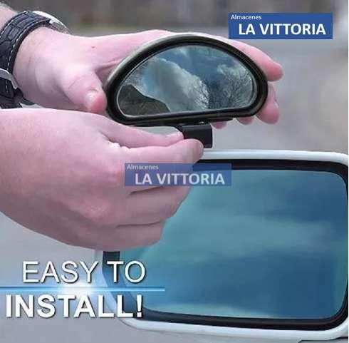 Doble Kit De Espejos Para Puntos Ciegos Ajustable Carros