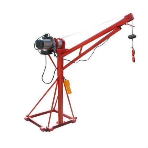 Winche tecle grúa pluma elevador 500 kg