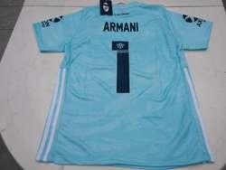 Camisetas River Plate Armani Arquero