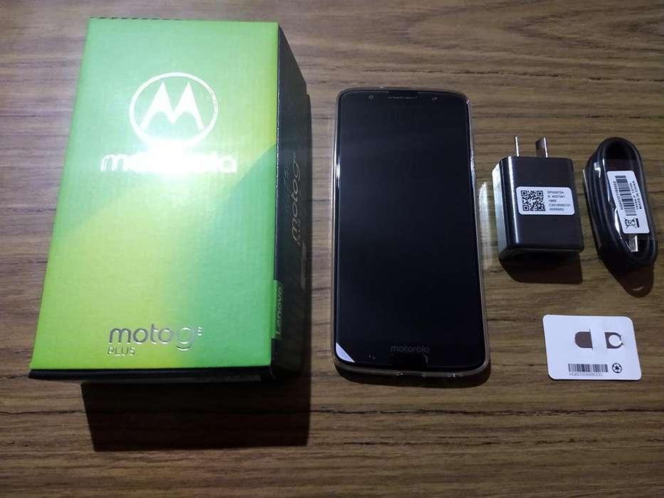 Celular Motorola Moto G6 Plus 64 GB Azul Indigo - Liberado - Nuevo En Caja!