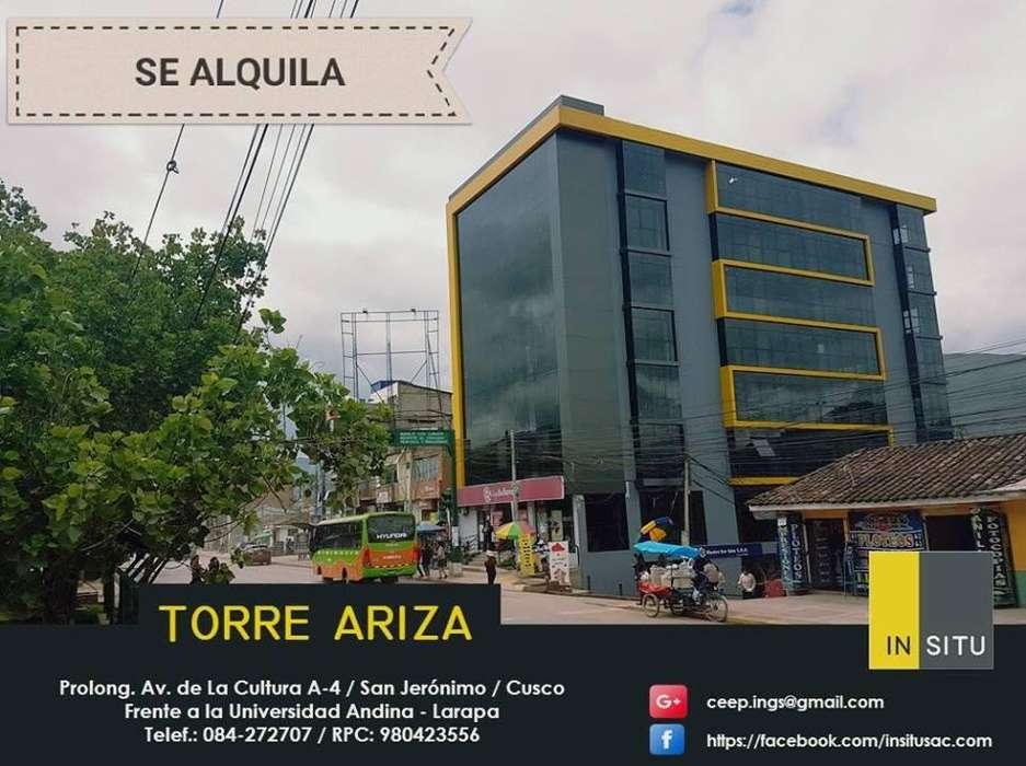 EDIFICIO ARIZA EN ALQUILER PARA INSTITUCIONES PUBLICAS O PRIVADAS