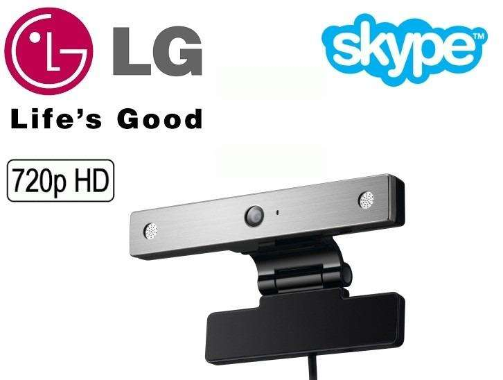 WEBCAM CAMARA PARA VIDEOCONFERENCIA HD 720P LG ANVC400 CON MICROFONO INCORPORADO PARA SMART TV O PC