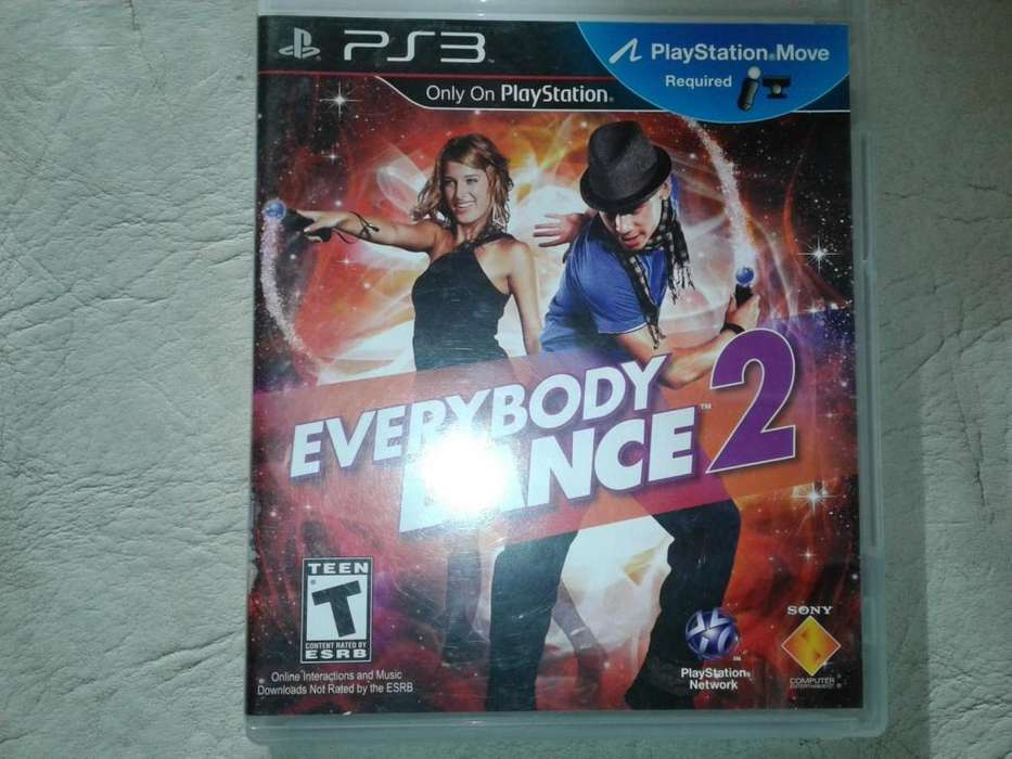 EVERYBODY DANCE 2 JUEGO FISICO PARA PS3