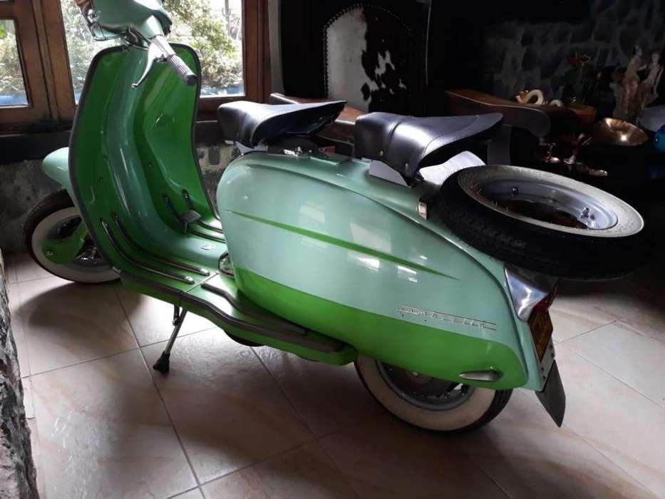 venta de hermosa moto lambretta modelo 1963 completamente restaurada con repuestos originales