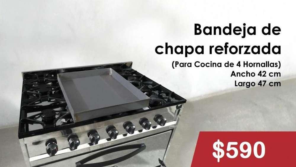 BANDEJAS DE CHAPA REFORZADA