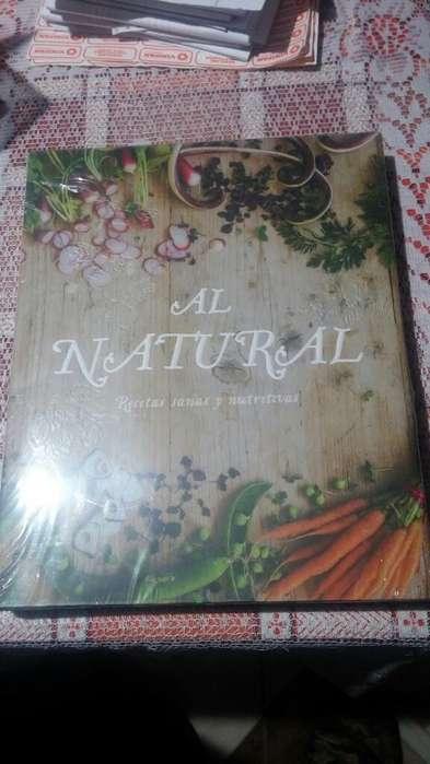 Libro de Cocina Al Natural