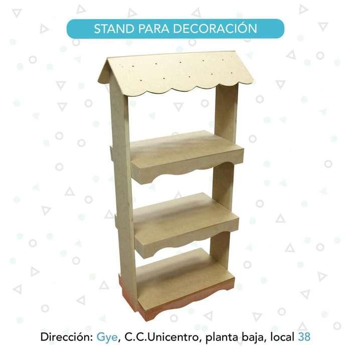Stand para <strong>decoracion</strong> Y Cupcakes