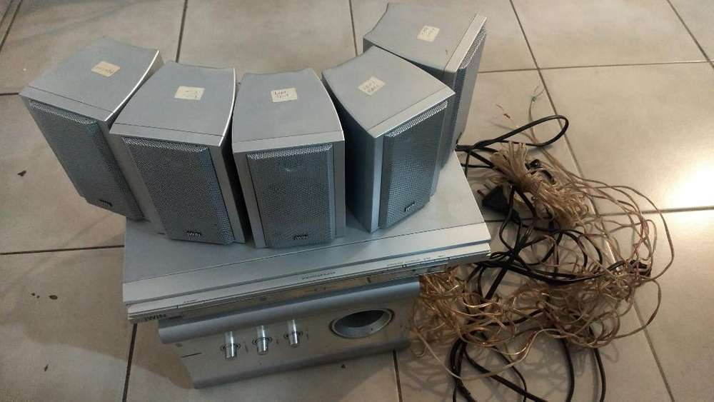 Home Theater Jwin 5.1subwoofer