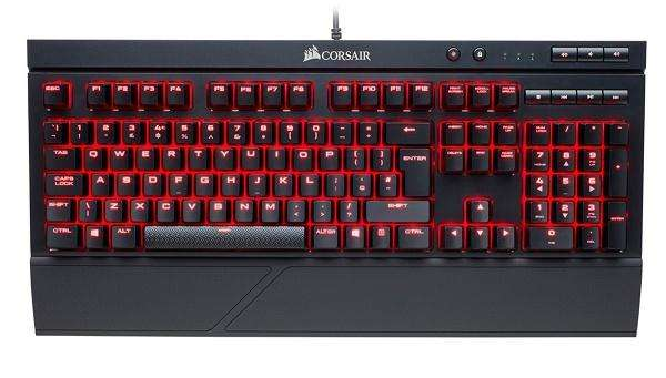 Teclado Mecanico Corsair K68 Gaming Cherry Mx Red Led