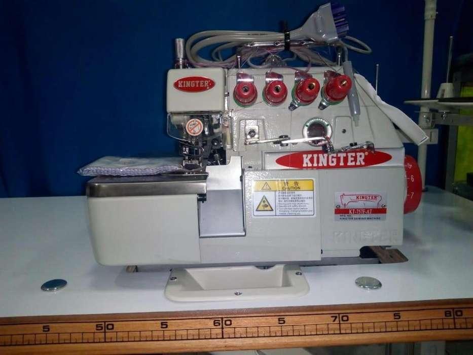 maquina fileteadora marca kingter